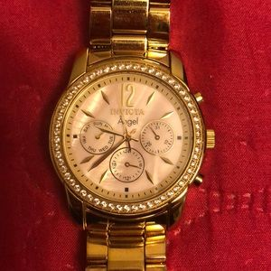 Invicta Women's Watch, Gold Stainless